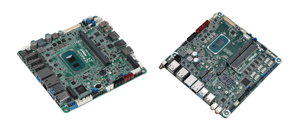 ASRock announces Tiger Lake based Motherboards For Industrial Applications