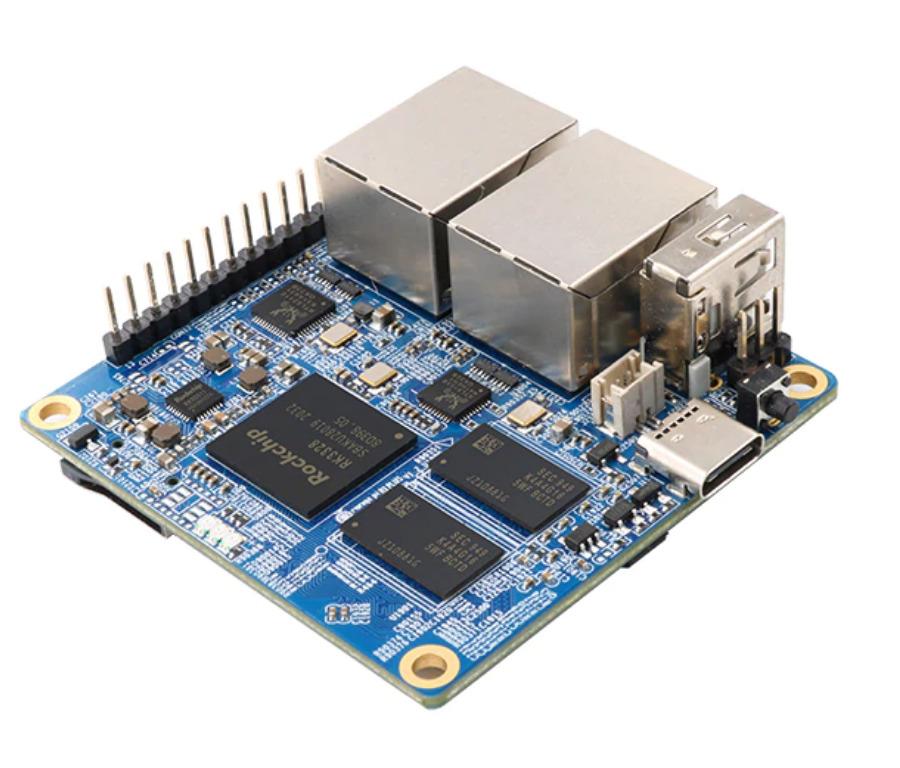 Orange Pi R1 Plus Router SBC with Dual Gigabit Ethernet