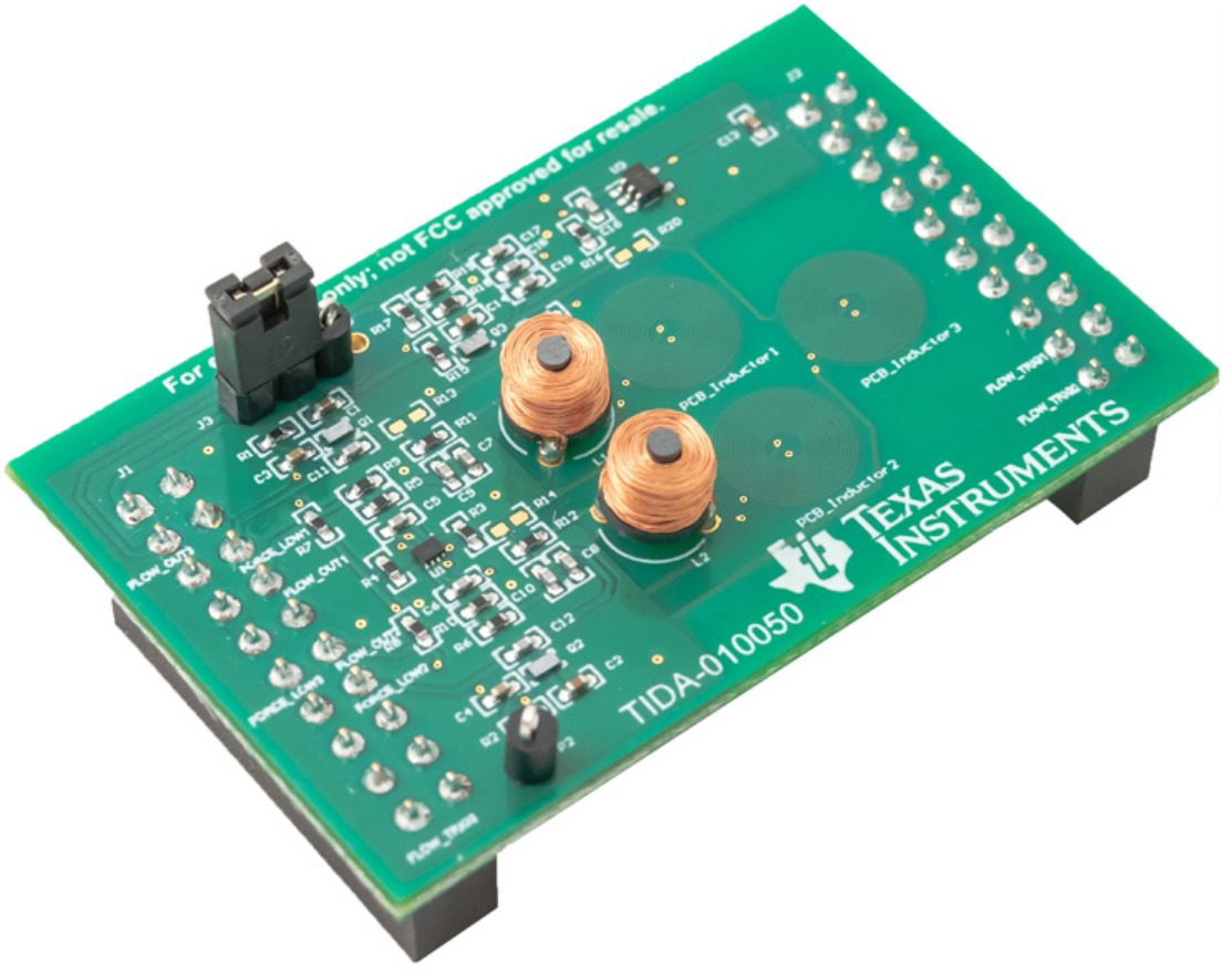 Ultra-low power water flow measurement for AMR reference design