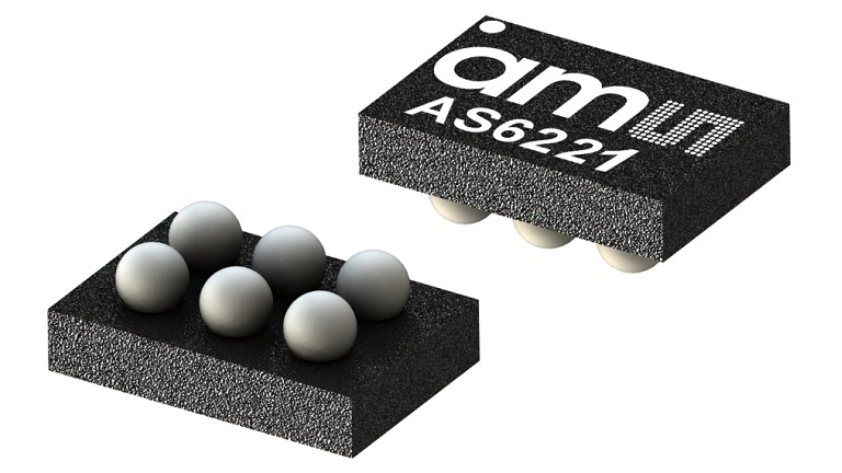 Accurate Digital Temperature Sensor? Meet the AMS AG AS6221