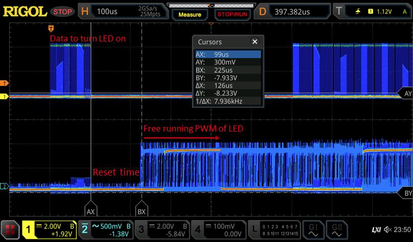 Power Analysis: Probing WS2812 RGB LEDs