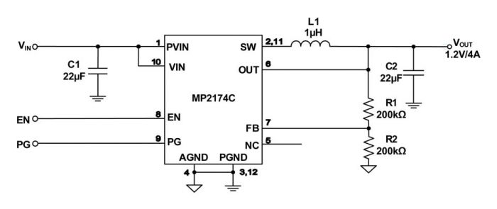 MP2174C Switch Mode Converter