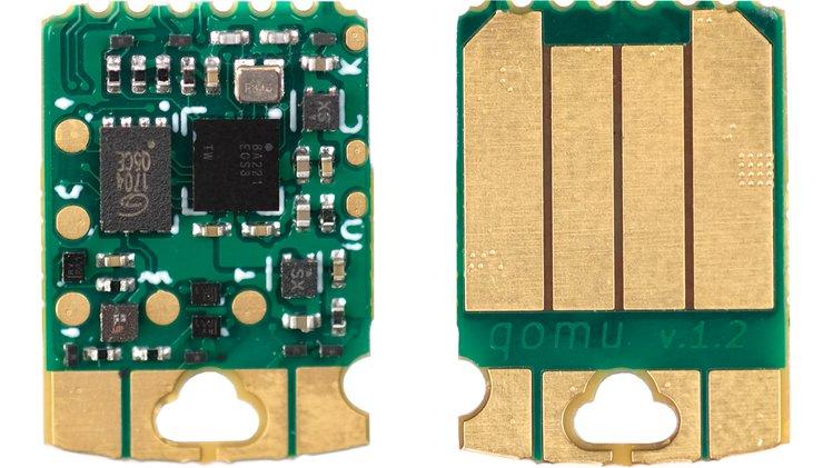 Meet Qomu – A complete SoC that easily fits inside a USB port