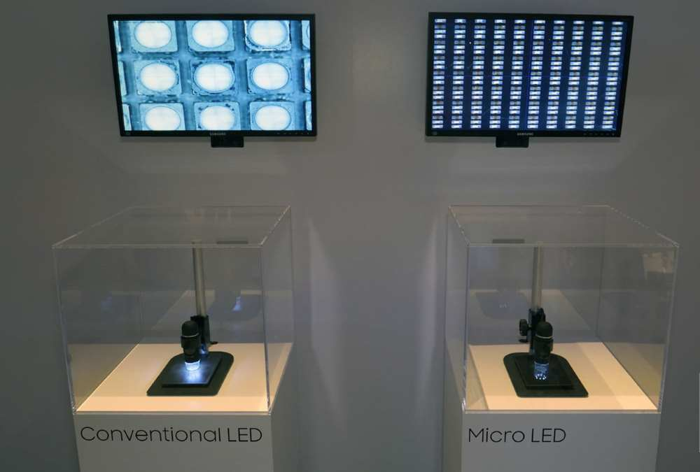 LEDs and MicroLEDs through the microscope