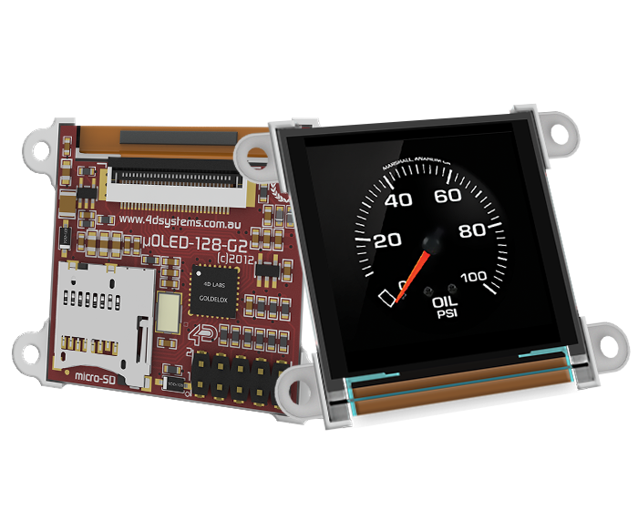 UOLED-128-G2 – 1.5″ Smart micro OLED Display