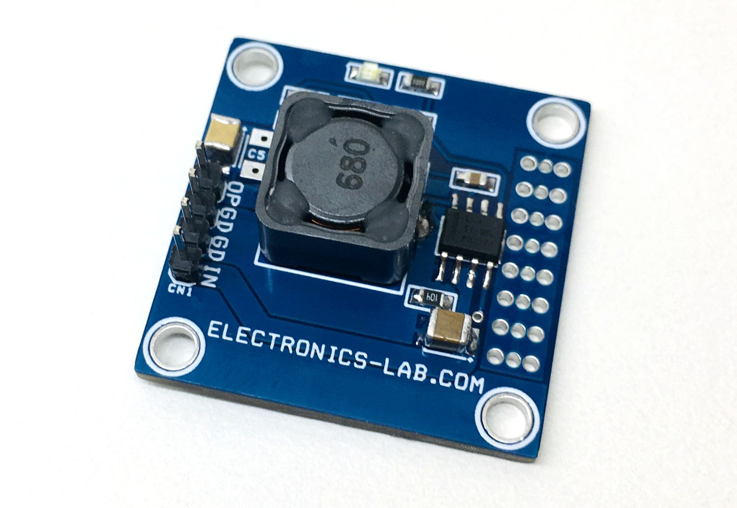 65V Input to 12Vdc Output – 1A synchronous buck DC/DC converter using LM5164