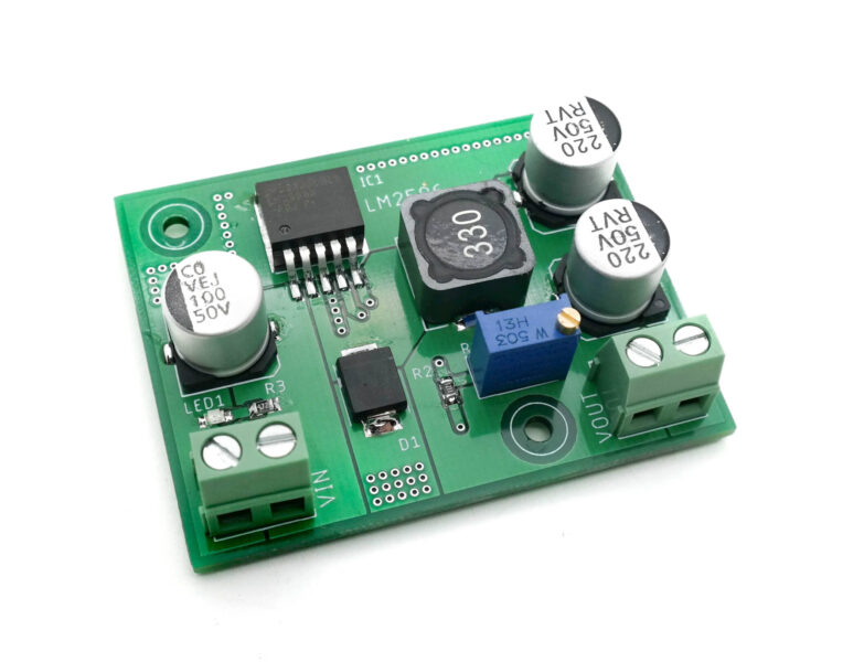 1.2V to 35V @ 3A Adjustable Step-down Regulator using LM2596
