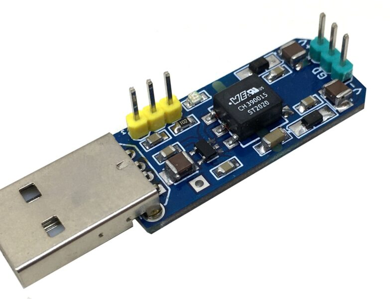 +/-18V Isolated DC-DC Converter Dual Supply Output from USB 5V Power Input