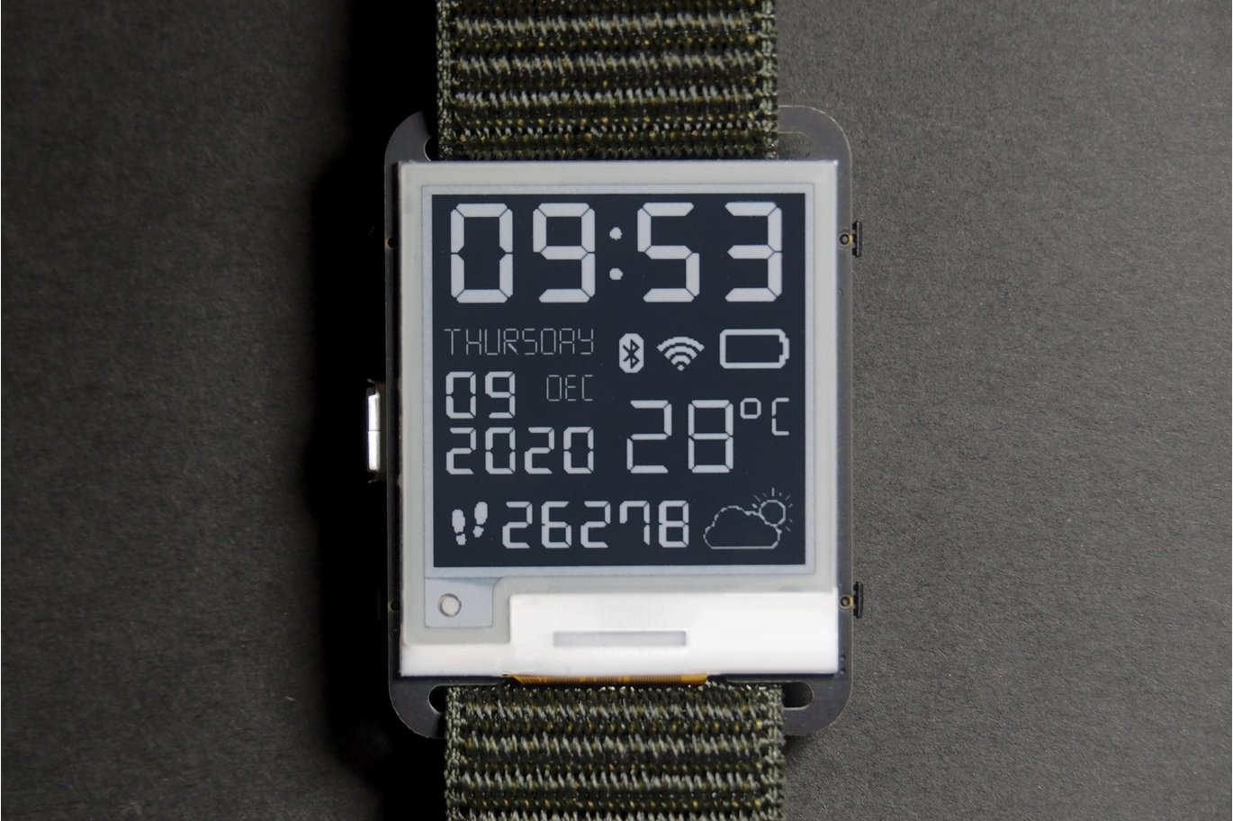 Watchy: The Open-Source E-Paper Watch