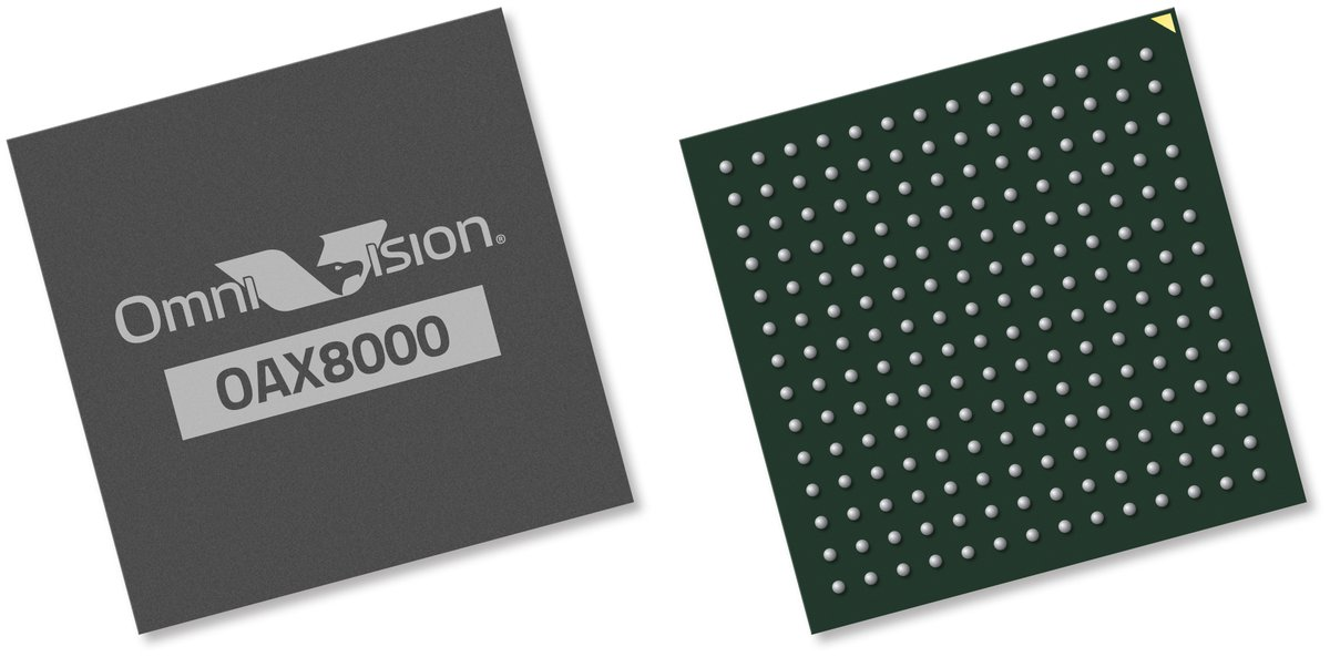 OAX8000 ASIC AI-enabled Processor for Driver Monitoring Systems