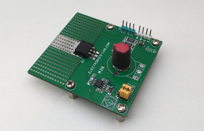 60W LED Dimmer for 12V LEDs using 555 Timer