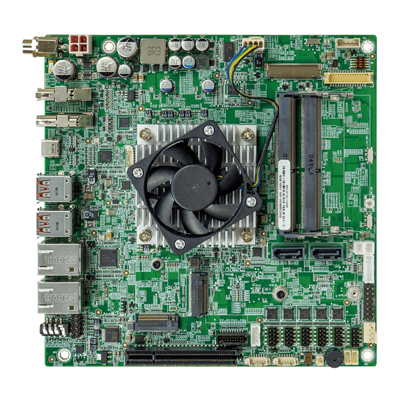 tKINO-ULT6: A Thin Mini-ITX Tiger Lake SBC With Dual 2.5GbE and USB 4.0