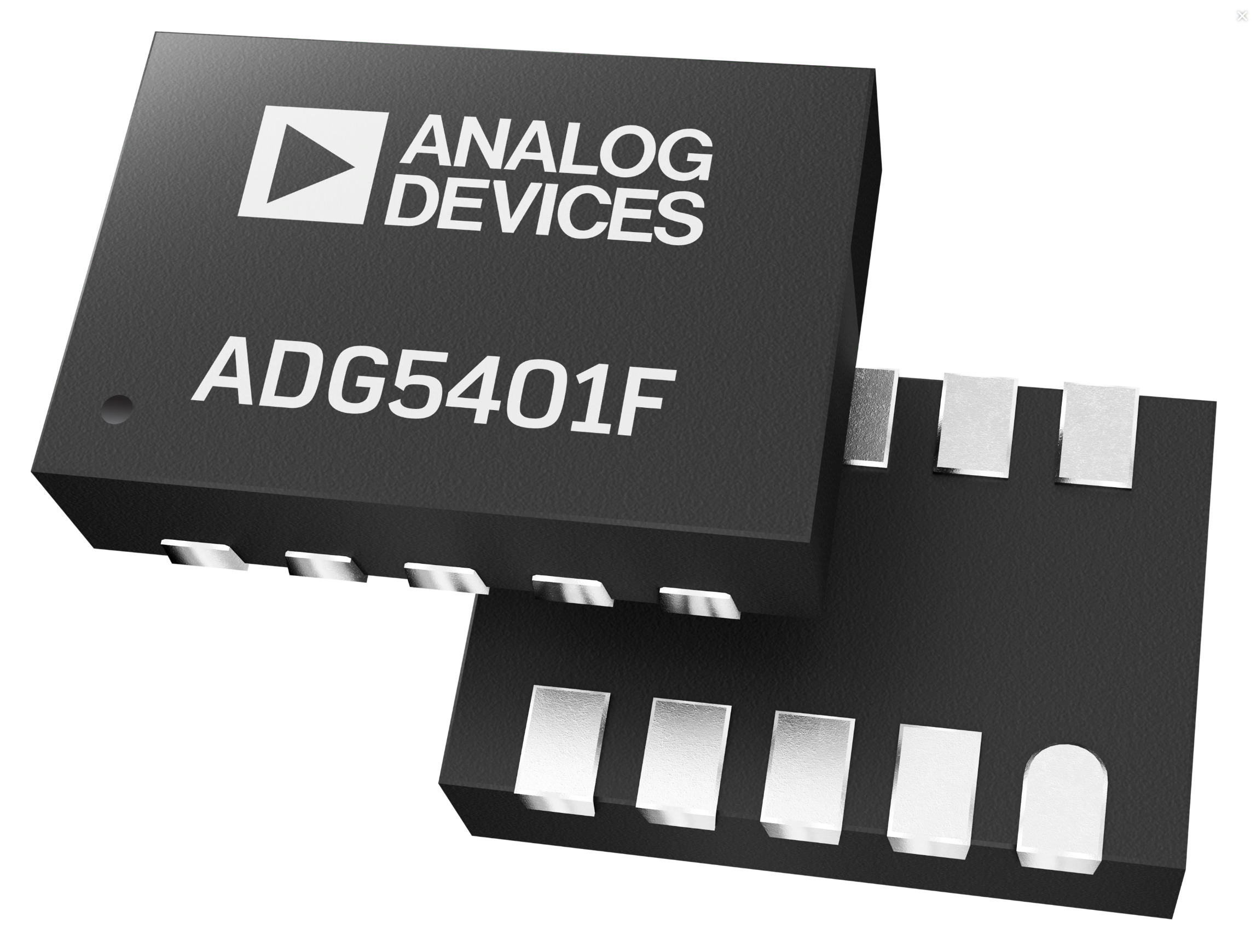 ADG5401F SPST Switch has Low ON resistance