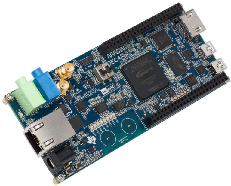 Arrow DECA Board With Intel's MAX 10 FPGA Now Sells For $37