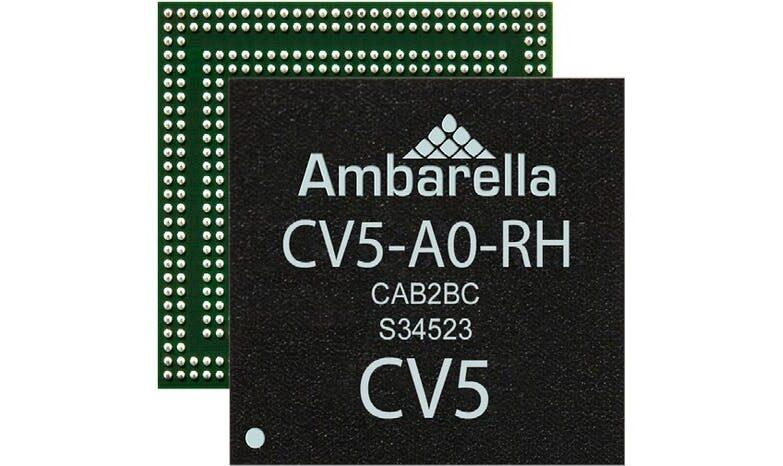 Ambarella CV5 AI Vision SoC for Low Power Computer Vision Applications