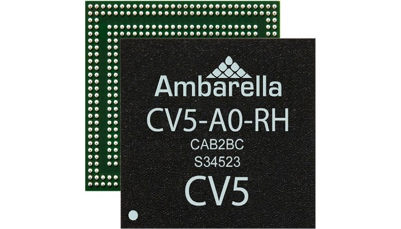 Ambarella CV5 AI Vision SoC for Low Power Computer Vision Applications