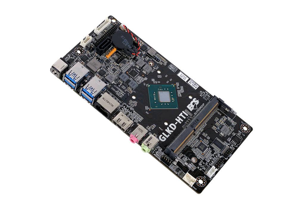 ECS GLKD-HTI Intel CPU on Board Cuts the Mini-ATX in Half