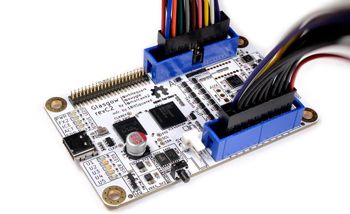 Glasgow Interface Explorer is a Hardware Debugging Tool for Digital Electronics
