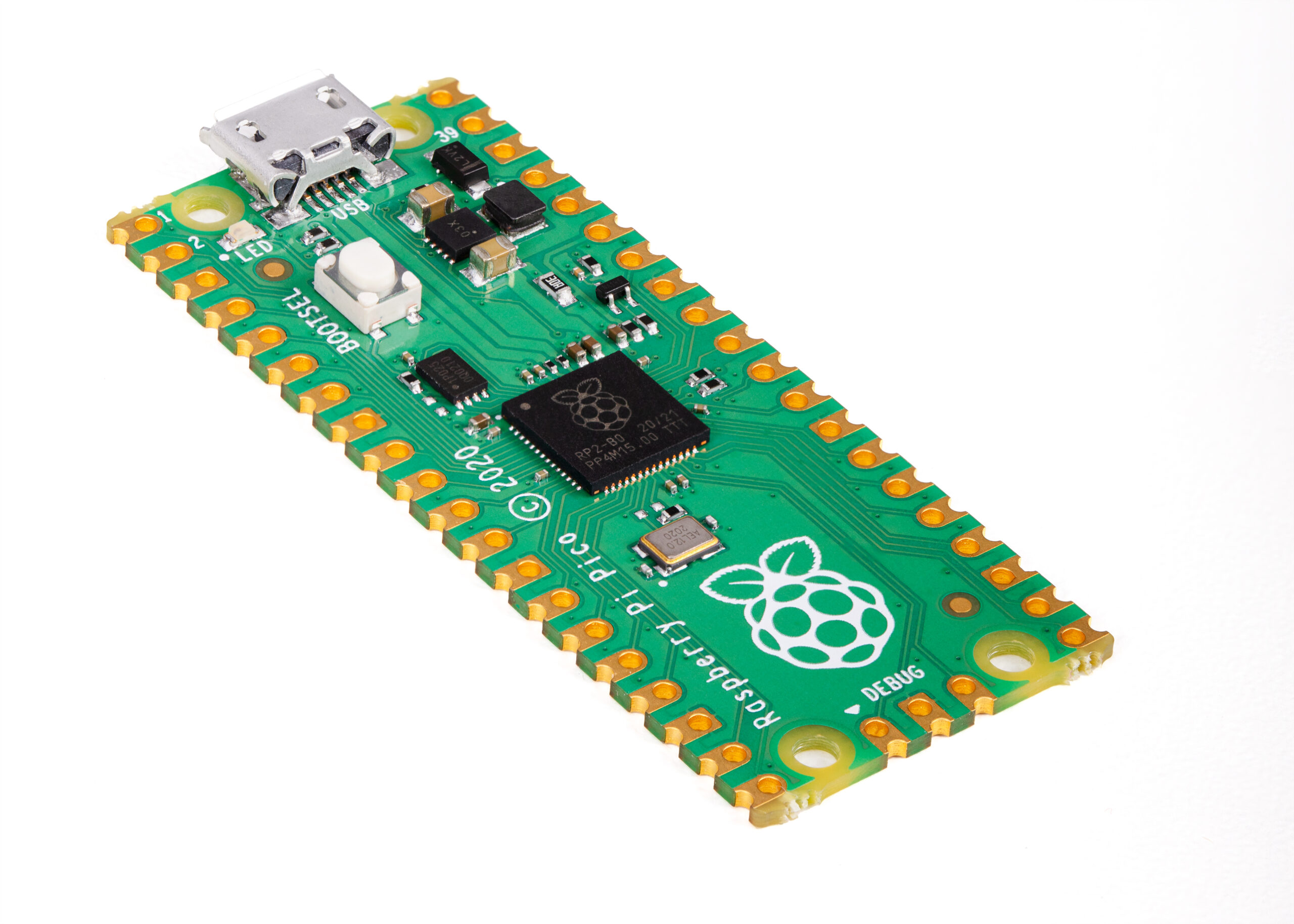 Raspberry Pi moves into the microcontroller market with RP2040 MCU