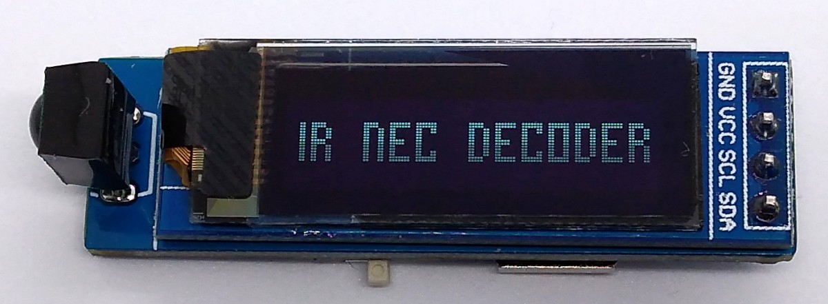 TinyDecoder – Cool IR Receiver and NEC Decoder with Arduino