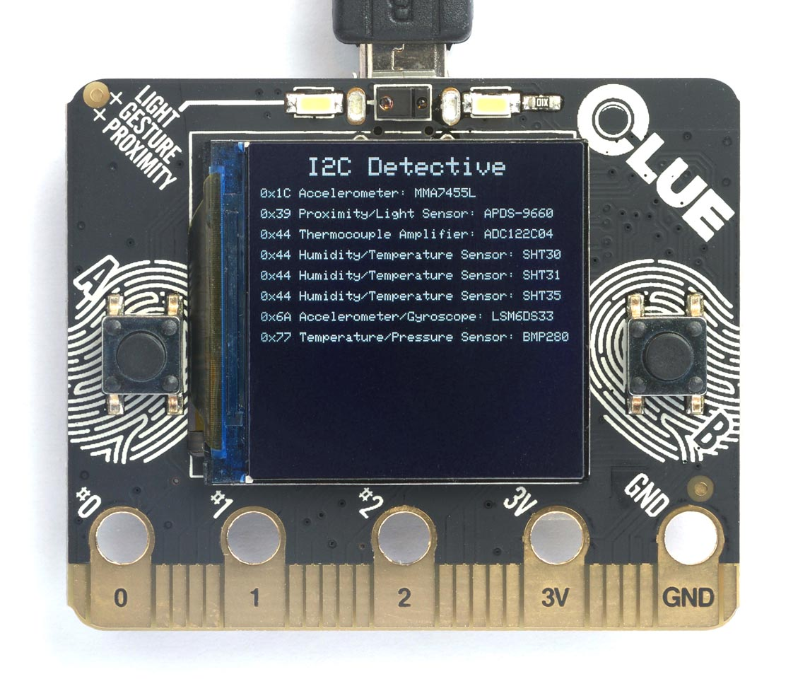 I2C Detective identifies the I2C devices connected to your microcontroller
