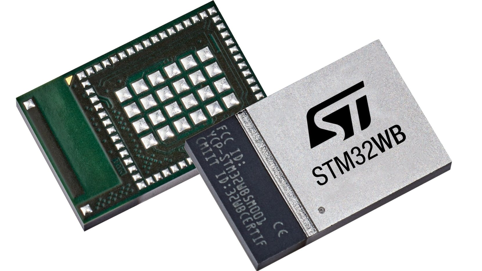 STM32WB5MMG Wireless Module supports Bluetooth LE, Zigbee, OpenThread, and More