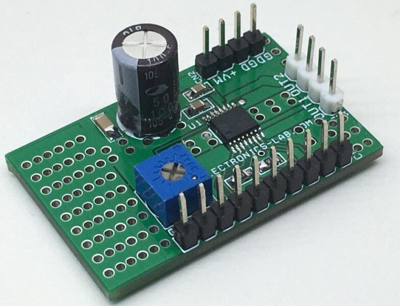 H-Bridge Motor Driver with Integrated Current Sense and Regulation using DRV8874