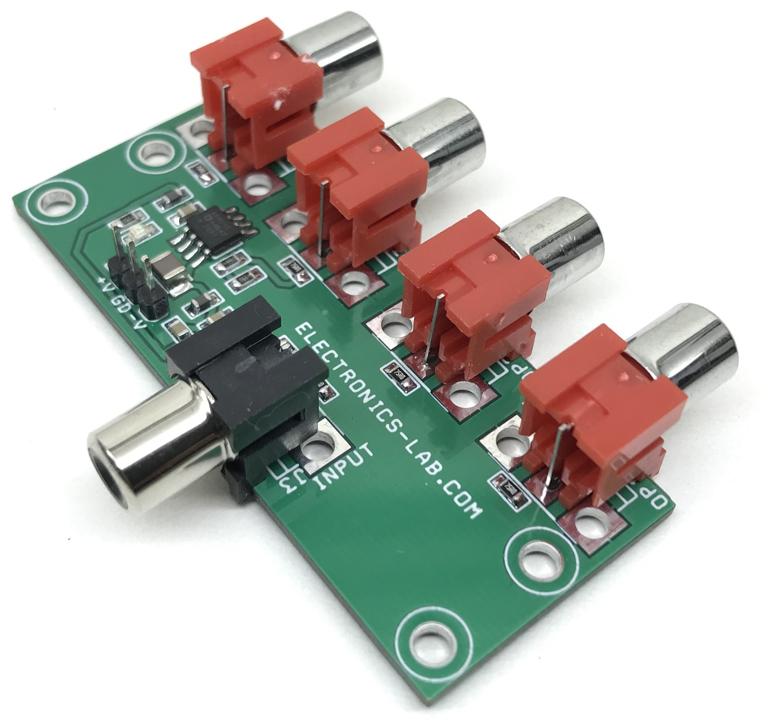 4 Channel Analog Video Distribution Amplifier