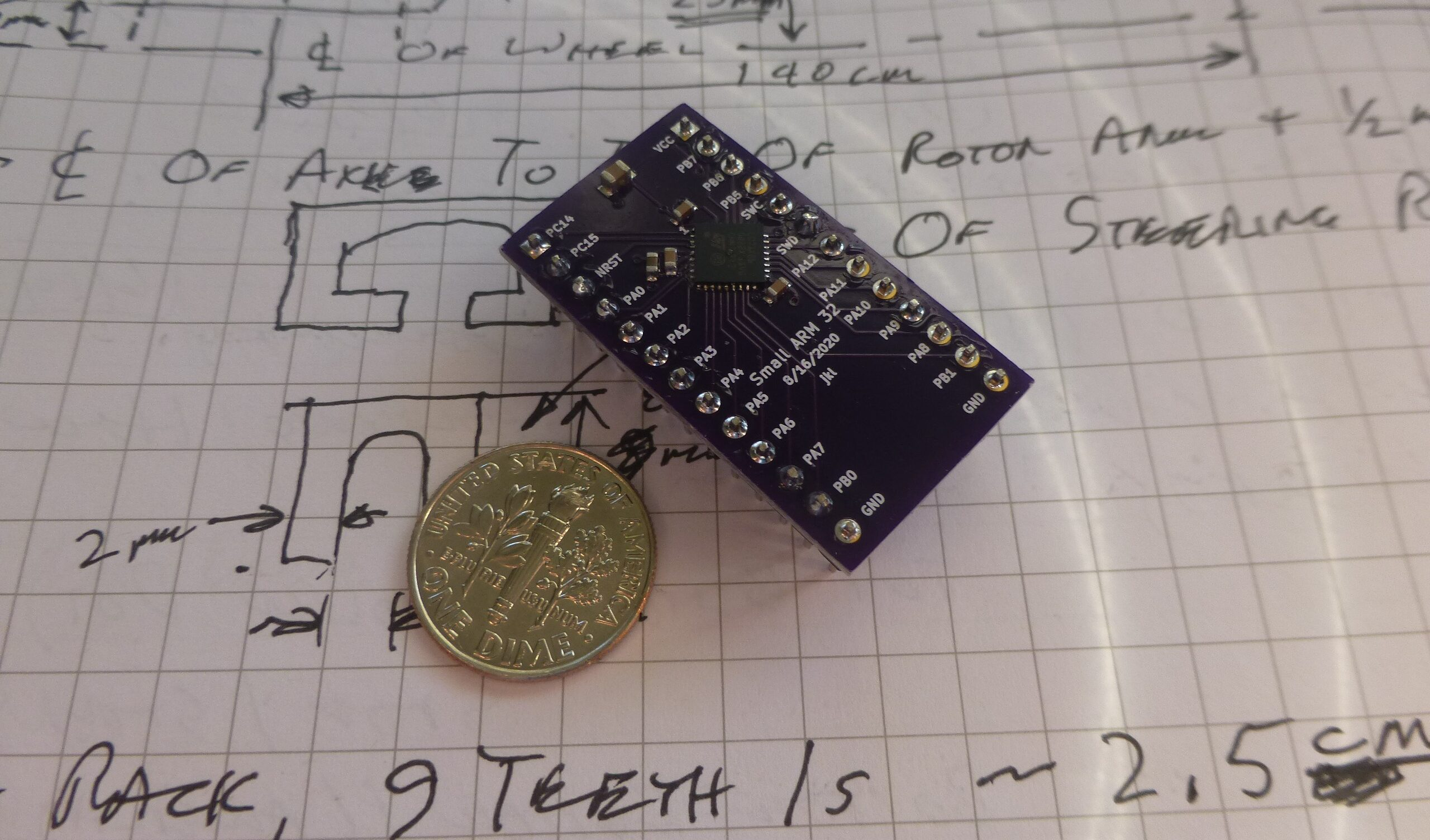 The Tiny Yet Powerful tArmDuino Features an STML071 MCU
