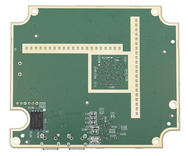 Backside of 4D Imaging chip