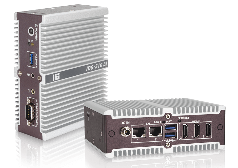 AI Digital Signage System Features an Apollo Lake SoC, Dual Myriad X VPUs and Triple HDMI ports