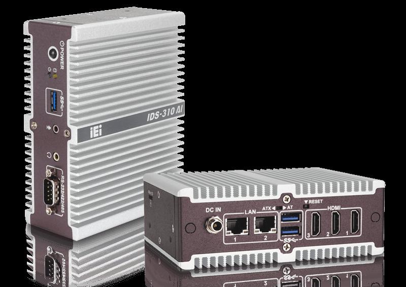 IDS-310AI mini-PC with Apollo Lake SoC and dual Myriad X VPUs