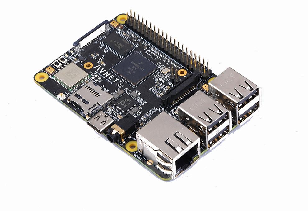 MaaXBoard Nano is a i.MX8M SBC in Raspberry Pi-like style