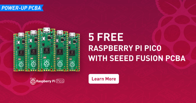 Make your Raspberry Pi Pico Project with 5 Free Pico using Seeed Fusion's PCB Assembly Service