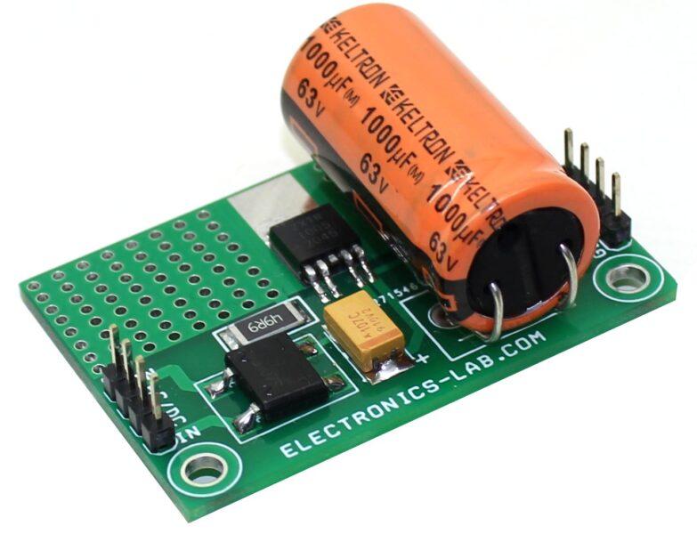 60V Input – 5V @ 50mA Output High Voltage Fixed Output Regulator