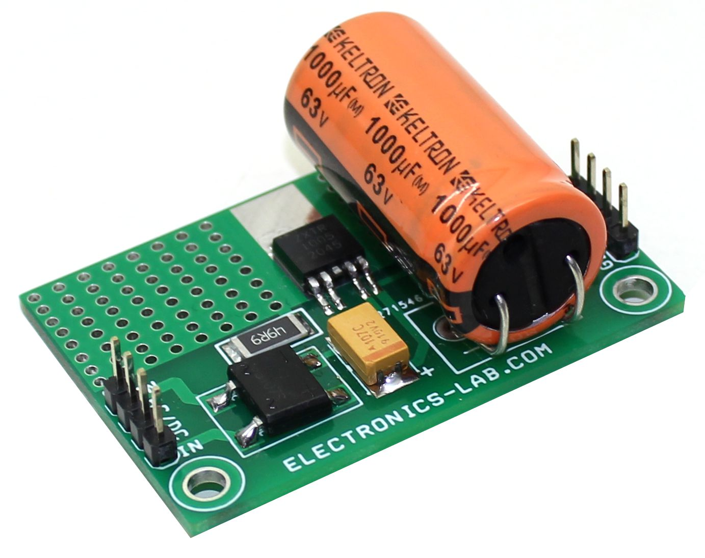 60V Input – 5V @ 50mA Output High Voltage Fixed Output Regulator