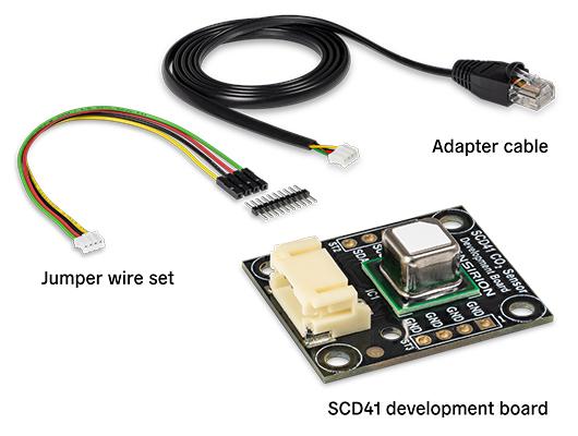 Sensirion SEK-SCD41 CO2 Sensor Evaluation Kit