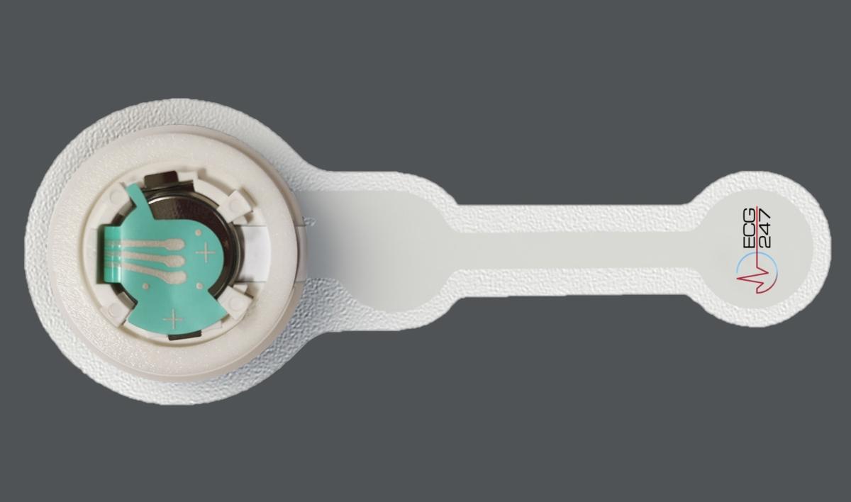 AppSens's BLE Wearable ECG Sensor Powered By Nordic nRF52832 Detects Arrhythmia