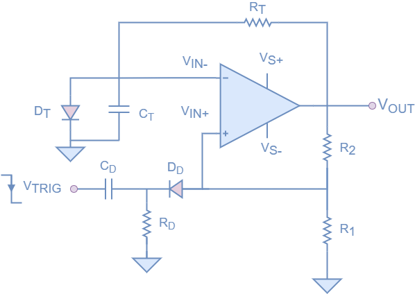 Final Op-amp monostable