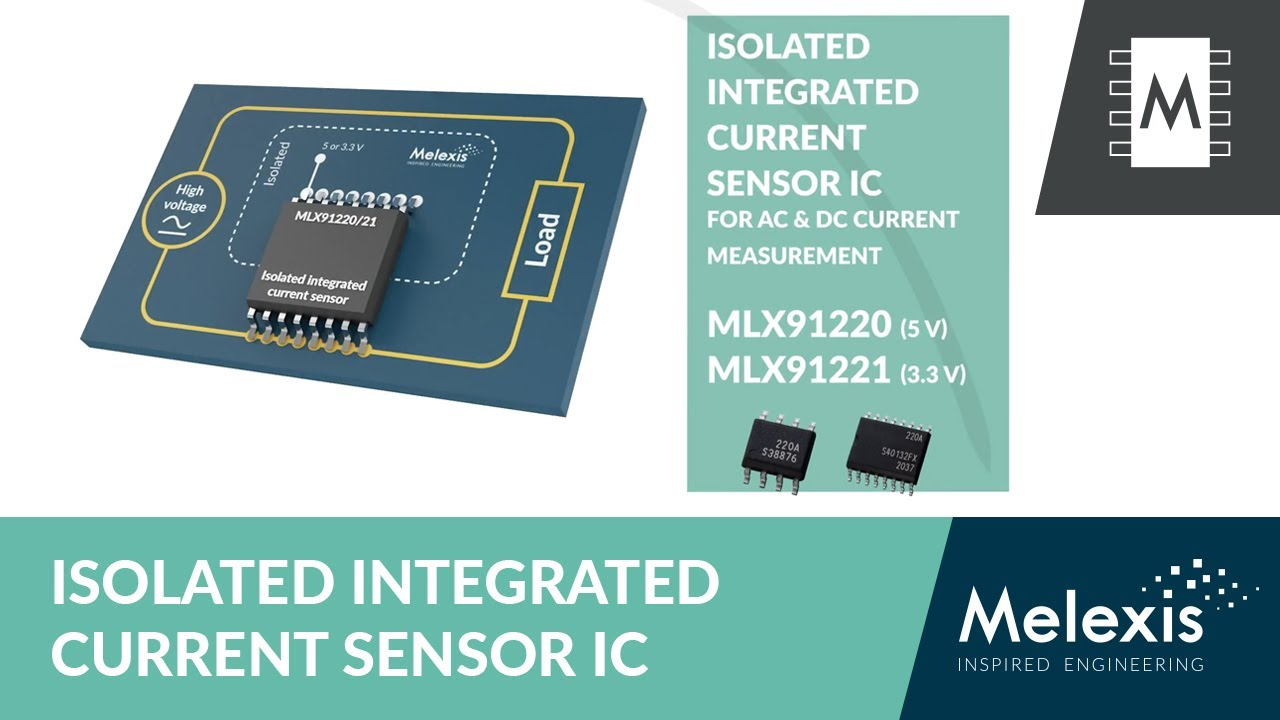 For higher power density and reduced BoM: Melexis MLX91220/21 current sensors at Rutronik