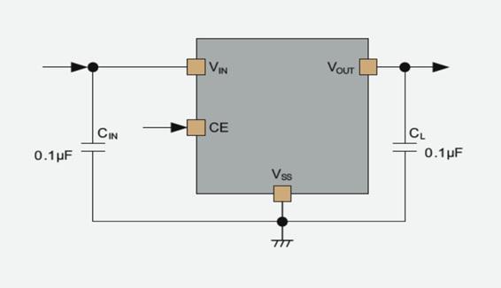 XD6506 – 6.0V 150mA Ultra Low Power LDO Voltage Regulator