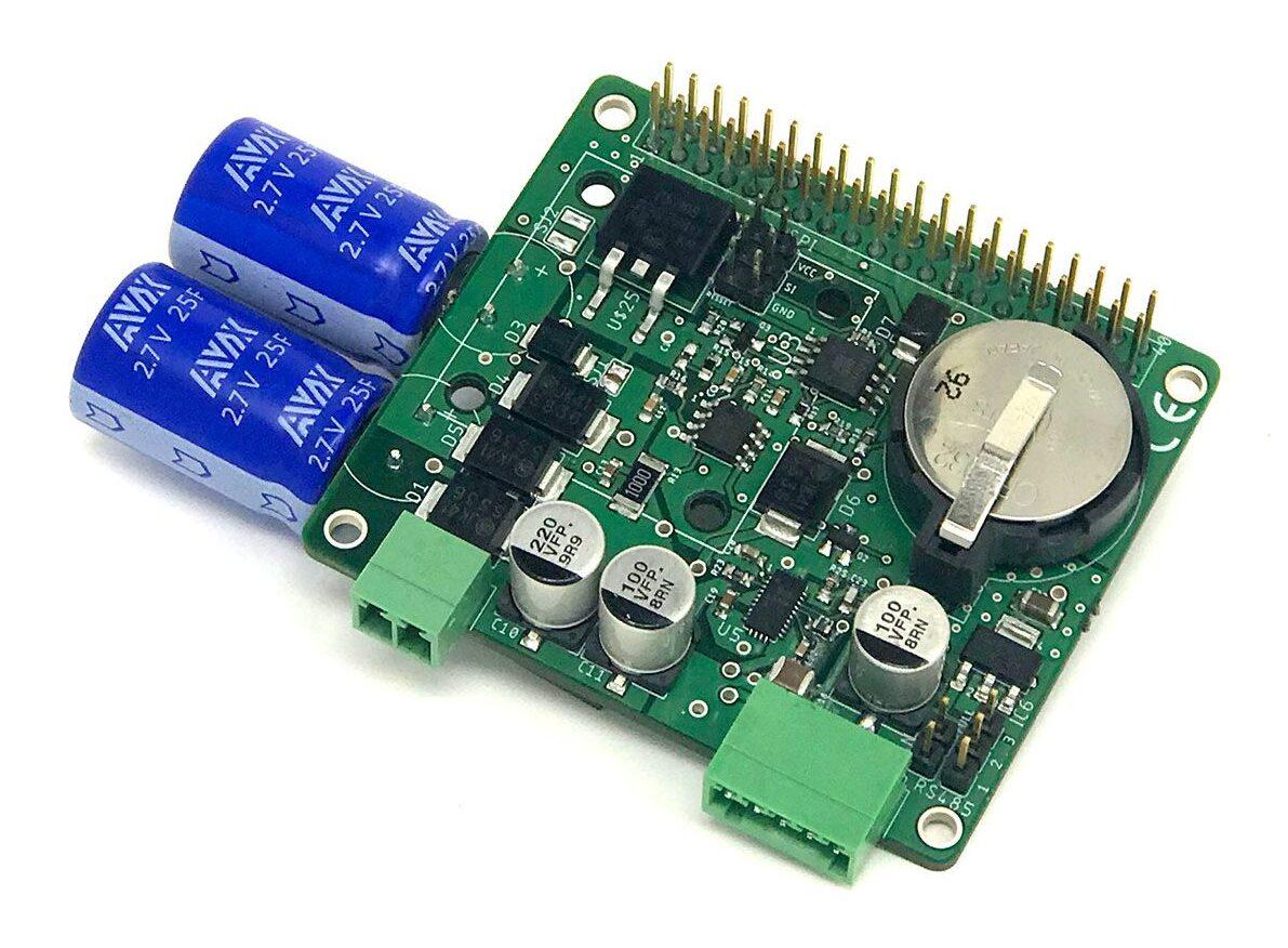 Industrial Shields Raspberry Pi UPSberry