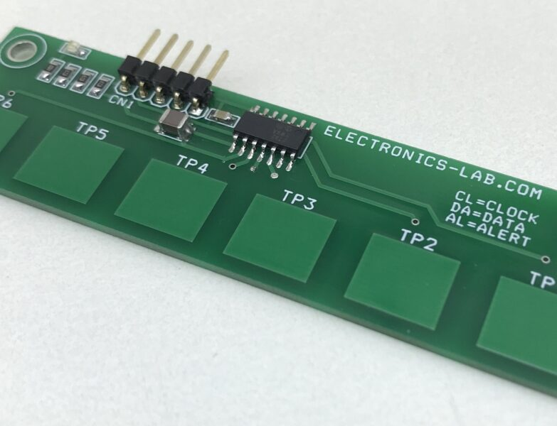 6-Channel Capacitive Touch Sensor Module
