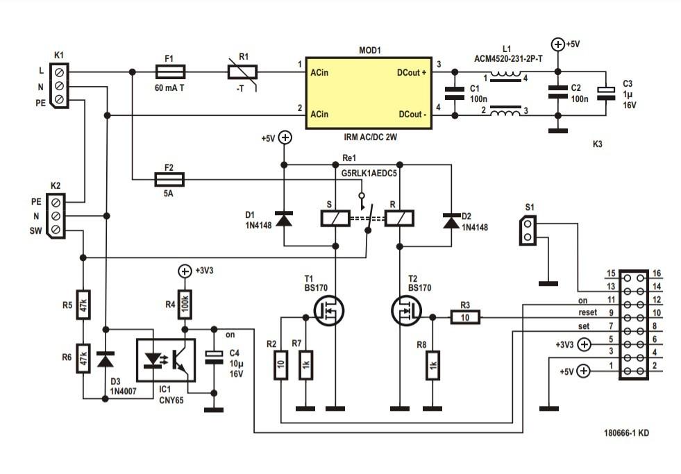 Elektor Project: Wi-Fi for LoRa Switch