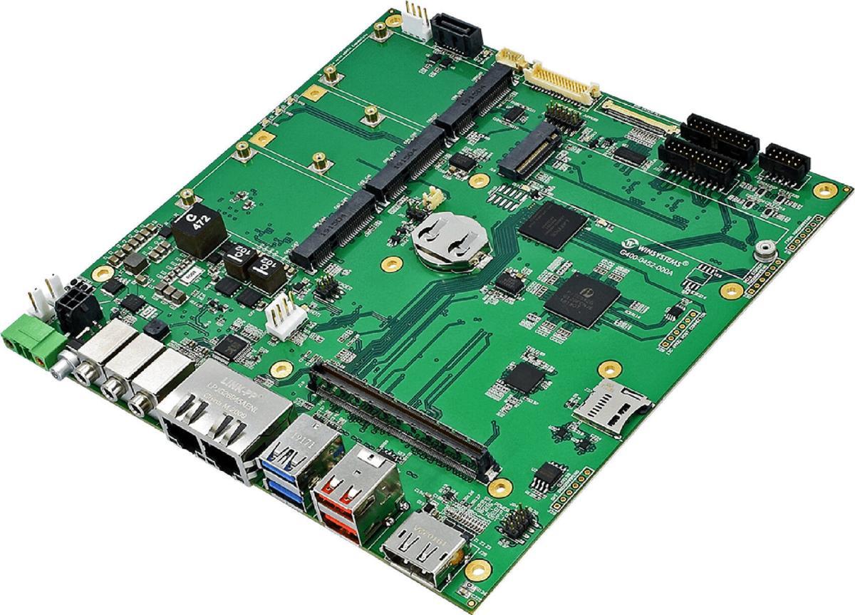 New ITX-M-CC452-T10 Board with Built-in Storage Spans microSD, SATA and mSATA