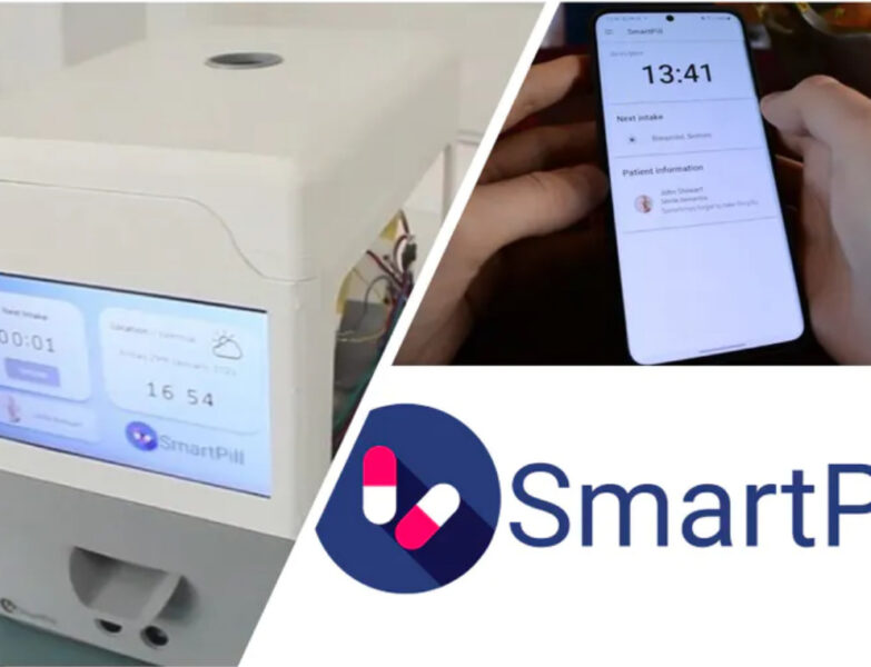 Automatic pill dispenser For The Elderly and Disabled persons.