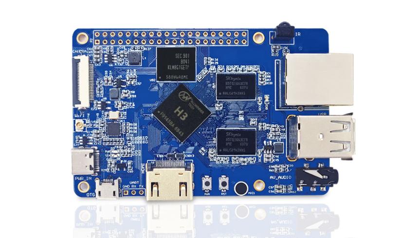 Shenzhen LC Technology's Cherry Pi PC V7 is a Replica of Orange Pi PC