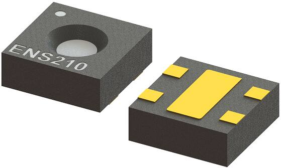 ScioSense's ENS210 relative humidity and temperature sensor with I²C interface