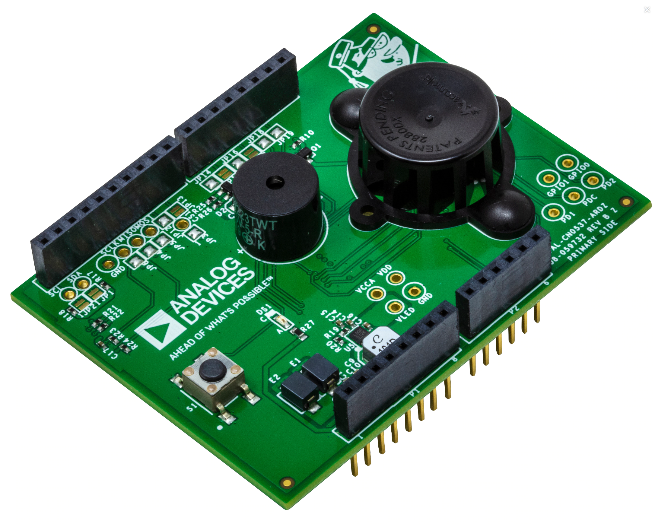 Analog Devices CN0537 Reference Design for UL-217 Smoke Detector