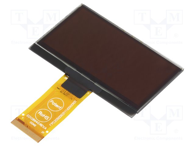 EA W128064-XALG Compact Low-Power OLED Display